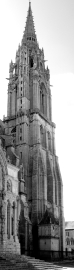 North Gothic Spire, Chartres Cathedral, France, 2012